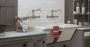 Kitchen With Farm Sink - apron front farmhouse sink options and why i decided against