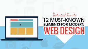 modern web design modern web design 12 technical trends elements