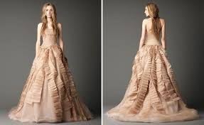 Wedding Dress 2012 Bride Ca Vera Wang Fall 2012 The Black Magic Collection