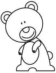 funny bear coloring page h u0026 m coloring pages