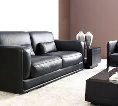 canapé cuir noir design le canapé design italien en 80 photos pour relooker le salon