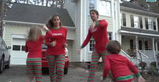 christmas jammies is the best video family christmas card ever