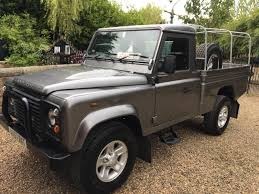 range rover defender pickup land rover defender 110 county high capacity pickup grey 2008