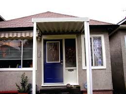 Exterior Door Awnings The Door Awnings S Door Awnings Lowes Exterior Door Wood