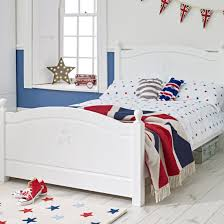 White Small Double Bed Frame by Superstar Collections Ollie U0026 Leila