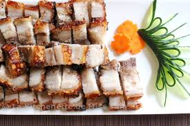 cuisiner poitrine de porc porc laqué croustillant thịt heo quay la kitchenette de miss