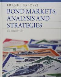 buy bond markets analysis and strategies book online at low