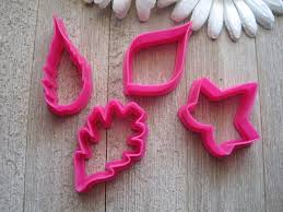2 inch mini cutter set mini leaf cookie cutter set mini cookie