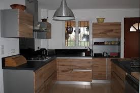 cuisine bois et blanc laqué cuisine bois et blanc laque 7 cuisiniste 224 maillane 13