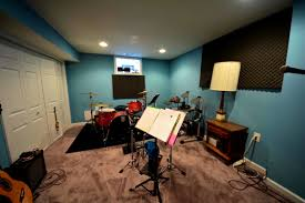 small music studio apartments handsome wall painting ideas for music room studio