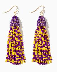 purple earrings earrings studs hoop dangle earrings charming