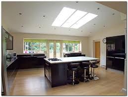 kitchen lighting idea open plan kitchen lighting ideas the smart way
