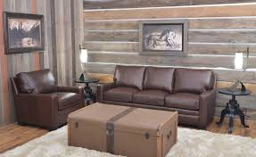 Leather Upholstery Sofa Rustic Home Furnishings And Leather Upholstery Furniture