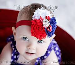 4th of july headband 111 best diy hairbows patriotic images on hair