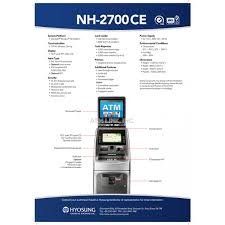 nautilus hyosung nh2700ce atm machine