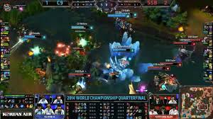 une fight au drake entre c9 et ssb league of legends vidéo
