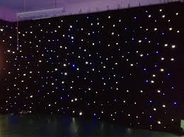 Curtain Vision Led Light Effects Large Star Curtain 4m 6m Star Colth Stage Drapes