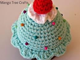 Pin Cushion Tree Mango Tree Crafts Crochet Cupcake Pin Cushion