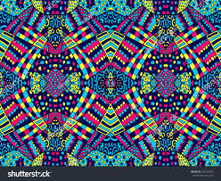 retro bright zentangle ornament background stock vector