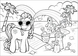 beach coloring pages preschool coloring pages beach click to see printable version of beach scene
