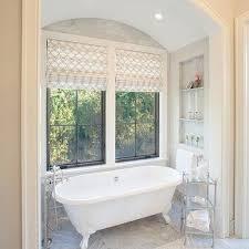 Shallow Bathtub Bathtub In Alcove Transitional Bathroom Benjamin Moore