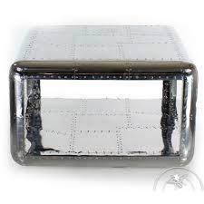 Aluminum Coffee Table Square Aluminum Coffee Table Baron Saulaie