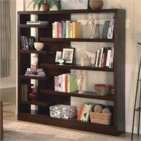 Coaster Corner Bookcase Coaster Corner Bookcase In Cappuccino 800268
