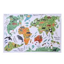 World Map For Kids Online Get Cheap Wall Maps For Kids Aliexpress Com Alibaba Group