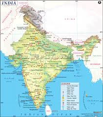 India Map Blank With States by India Map