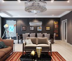 Ukrainian Apartment Interiors Musician by Upholstered Wall Upholstered Walls For Sophisticated Glamour