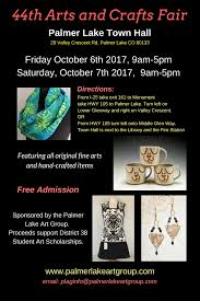 44th arts and crafts fair presented by palmer lake art group