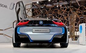 concept bmw i8 bmw i8 concept 2011 frankfurt motor show motor trend