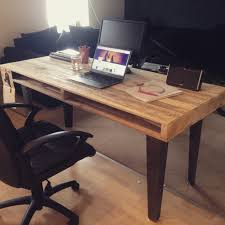 outstanding home design with diy pallet table with glass coating