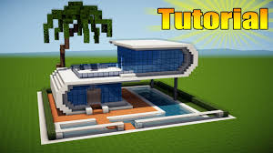 build a house minecraft modern beach house tutorial how to build a house in