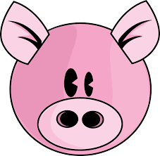 pink pig free download clip art free clip art clipart library