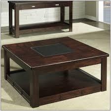 furniture square coffee table dark wood gus modern tobias walnut