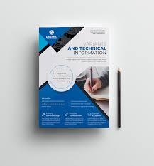 dafont freshman classic professional business flyer design template 001512