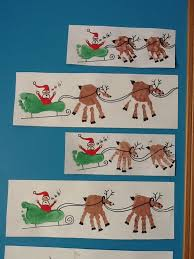 Kids Reindeer Crafts - best 25 reindeer footprint ideas on pinterest baby christmas