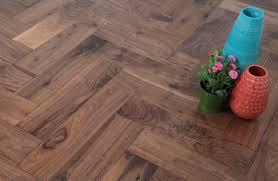 Calculate Laminate Flooring Lacquered American Black Walnut Herringbone Flooring 450 90 18 4