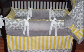 table delightful crib bedding grey and yellow wonderful grey