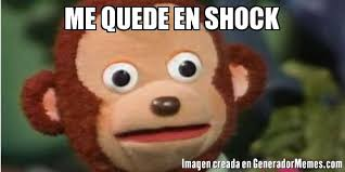 Shock Meme - me quede en shock meme de pedro mono imagenes memes