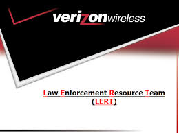 verizon wireless law enforcement resource team lert guide