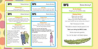 drama activities to support teaching on the bfg bfg drama