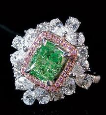 green diamonds rings images 43 best green diamonds images rings coloured jpg