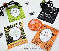 halloween gift tags free halloween prints dimple prints