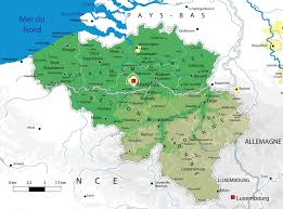 Europe Map Physical by Maps Of Belgium Detailed Map Of Belgium In English Tourist Map