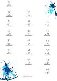 113 best addition practice worksheets images on pinterest cool