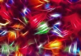 tangled christmas lights 1 fractal photograph by steve ohlsen
