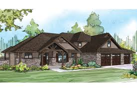 rustic craftsman house plans