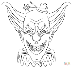10 images scary killer clown coloring pages planet jupiter